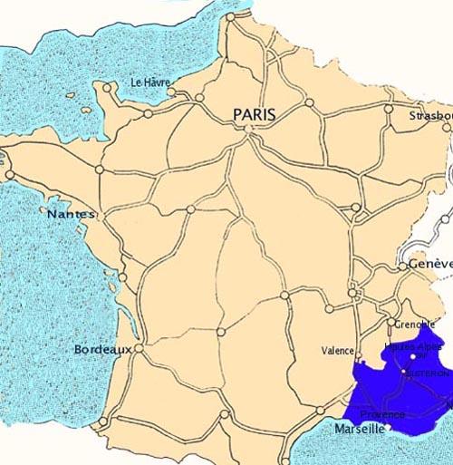 acces itineraire venir au gite de St Genis hautes-alpes