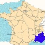 la region provence alpes cote d 'azur sud-est