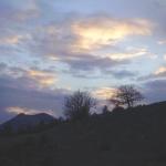 coucher-de-soleil-sur-montagne du buech