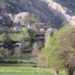 le village de St-Genis Hautes-Alpes