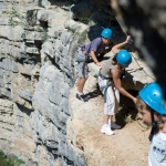 via-ferrata- vallon d''Agnielles Buech Hautes-Alpes