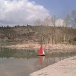 plage du plan d'eau du Riou, hautes-alpes