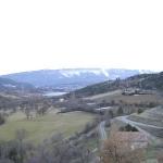 vue de St genis sur le vallon du Riou et le lac